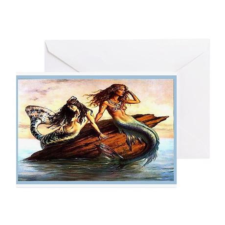 """Mermaids"" Greeting Cards (Pk of 10)"