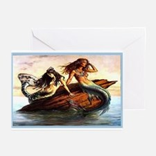 """Mermaids"" Greeting Cards (Pk of 10)"