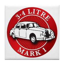 Jaguar 3.4 litre mk1 Tile Coaster