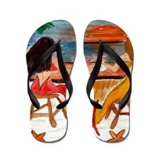 Martini Mermaids Flip Flops