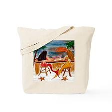 Martini Mermaids Tote Bag