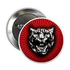 """Vintage style Jaguar head emblem 2.25"""" Button"""