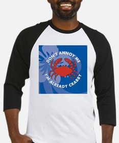 Dont Annoy Round Coaster Baseball Jersey