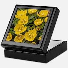Winter Aconite (Eranthis hyemalis) Keepsake Box