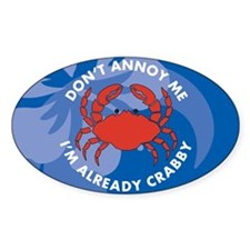 Dont Annoy Me Small Serving Tray Decal