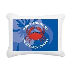 Dont Annoy Me Small Serv Rectangular Canvas Pillow