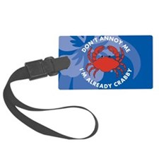 Dont Annoy Me Small Serving Tray Luggage Tag