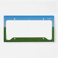 Wind turbines License Plate Holder