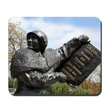 Women's rights statue, Canada Mousepad