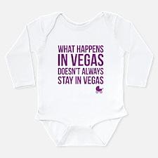 Unique Vegas baby Long Sleeve Infant Bodysuit