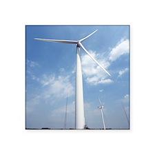 "Wind turbines, Denmark Square Sticker 3"" x 3"""