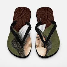 William Shakespeare, English playwright Flip Flops