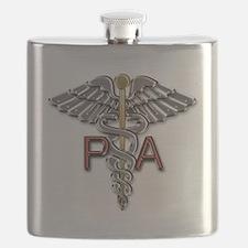 PA Symbol Flask