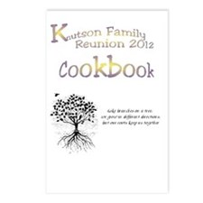 cookbook front Postcards (Package of 8)