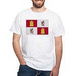 Castilla and Léon White T-Shirt