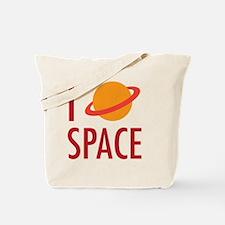 I Heart Space Tote Bag