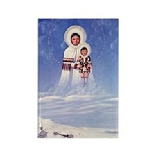 Our Lady of the Arctic Snows Rectangle Magnet