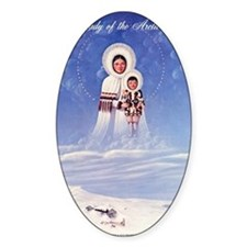 Our Lady of the Arctic Snows Bumper Stickers