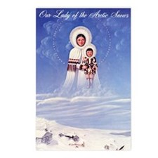 Our Lady of the Arctic Sn Postcards (Package of 8)
