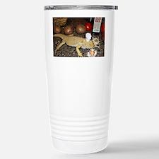 Chef Spiny the Lizard Travel Mug