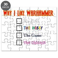 Why I Like Warhammer Puzzle