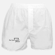 Can I get a Witness? Jehovah Boxer Shorts