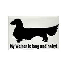 My Weiner Rectangle Magnet