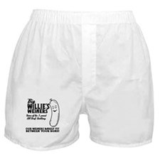 Big Willies Weiners Boxer Shorts