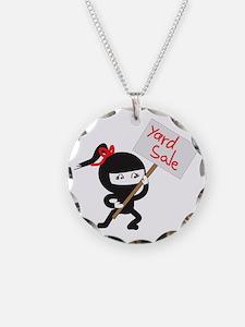 Yard Sale Ninjas Logo Necklace