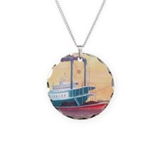 The Natchez steamboat Necklace