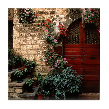 Italian Doorway Tile Coaster
