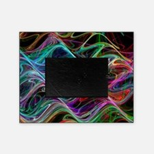 Waveforms, abstract artwork Picture Frame