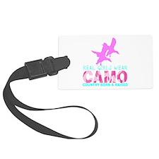 REAL GIRLS WEAR CAMO Luggage Tag