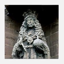 Weathered statue Tile Coaster