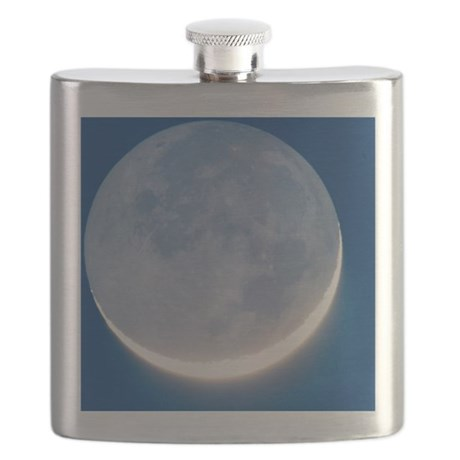 Waxing crescent Moon Flask
