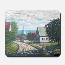 Maine in May on the coast Mousepad