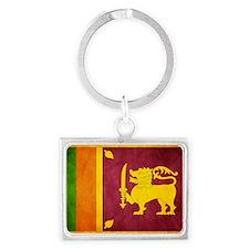 Sri Lanka Landscape Keychain