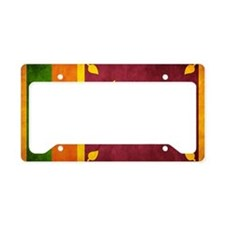 Sri Lanka License Plate Holder