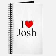 """I Love (Heart) Josh"" Journal"