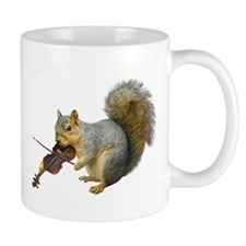 Squirrel Violin Coffee Mug