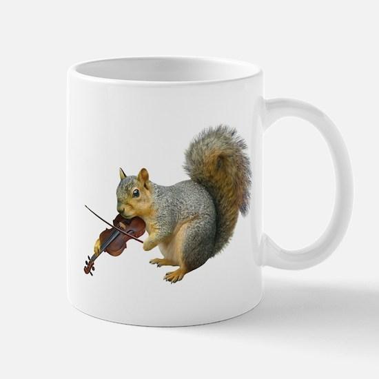Squirrel Violin Mug