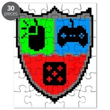 Gamer Coat of Arms Puzzle