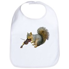 Squirrel Violin Bib