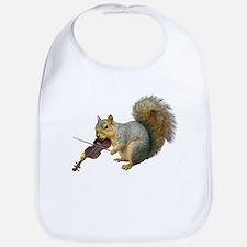 Squirrel Violin Bib