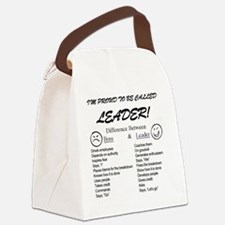 Proud to be Leader Canvas Lunch Bag