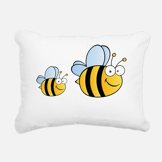 gvBee33 Rectangular Canvas Pillow