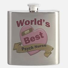 Worlds Best Psych Nurse Flask