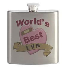 Worlds Best LVN Flask