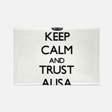 Keep Calm and trust Alisa Magnets