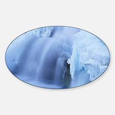 Wapta Falls, Canada Sticker (Oval)